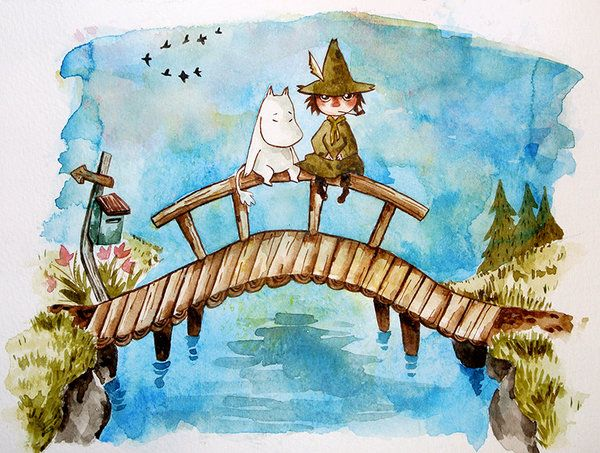 Moomin by rokkihurtta on DeviantArt