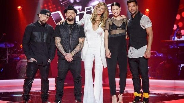 Judges Jessie J and Ricky Martin ramp up the volume on The Voice Australia The Voice Australia 2015 #TheVoiceAustralia2015