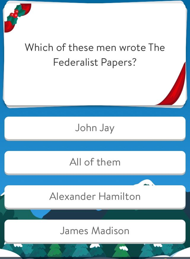 John Jay Got Sick After Writing 5 James Madison Wrote 29 Hamilton