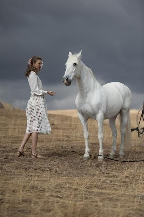 karlie kloss for Mercedes-Benz Fall 2013 campaign by Ryan McGinley