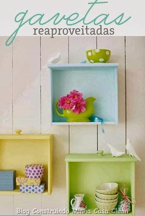 Construindo Minha Casa Clean: 10 Ideias Criativas de Reciclagem!!!
