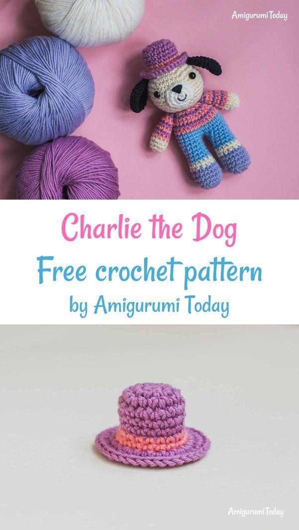 Tommy the Dog crochet pattern | Crochet dog patterns, Crochet ... | 1062x600