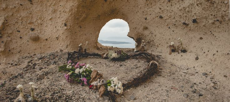 At the heart-shaped Caldera...  Romantic Proposal by Phosart Photography & Cinematography. See more http://photographergreece.com/en/photography/proposals/572-at-the-heart-shaped-caldera