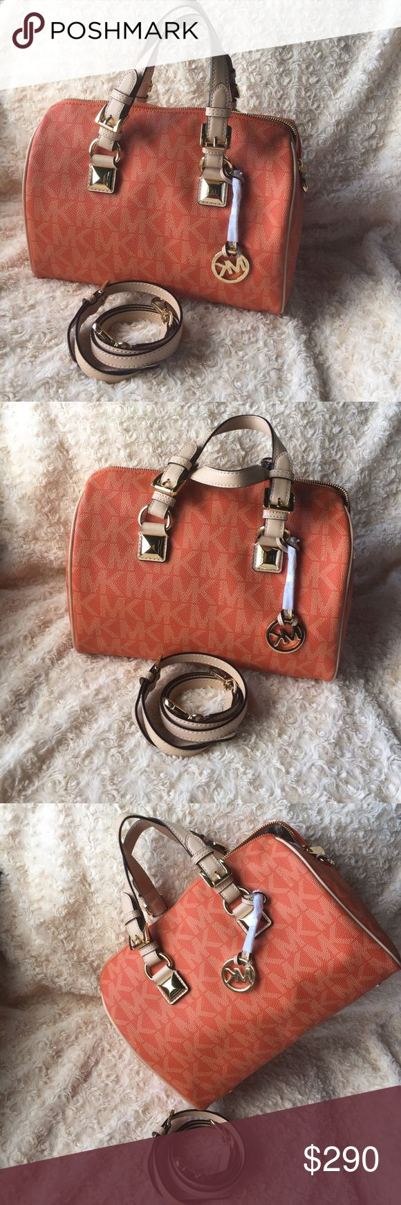 Authentic Michael Kors Womens Satchel Handbag 💯 Authentic MK, Brand New with tag and Never used. Reasonable offer are welcome! Michael Kors Bags Satchels