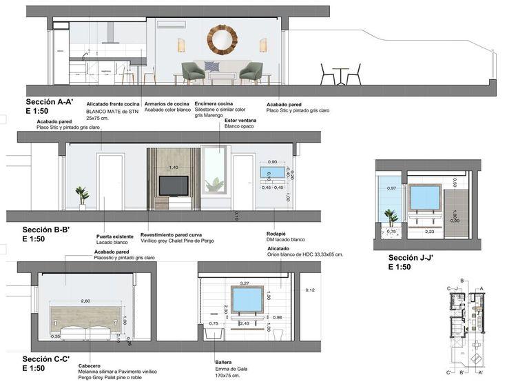 EVM_piloto 3 Royal Sun_planos 03 #arquitectura #architecture #interiorismo #decoración