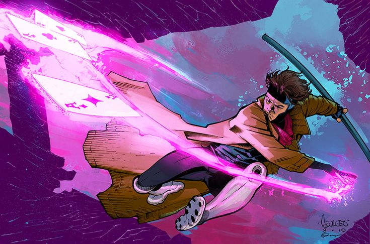 Gambit color commission by SpicerColor.deviantart.com on @deviantART