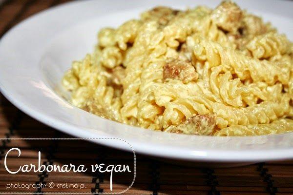 La zucca capricciosa: Carbonara vegan