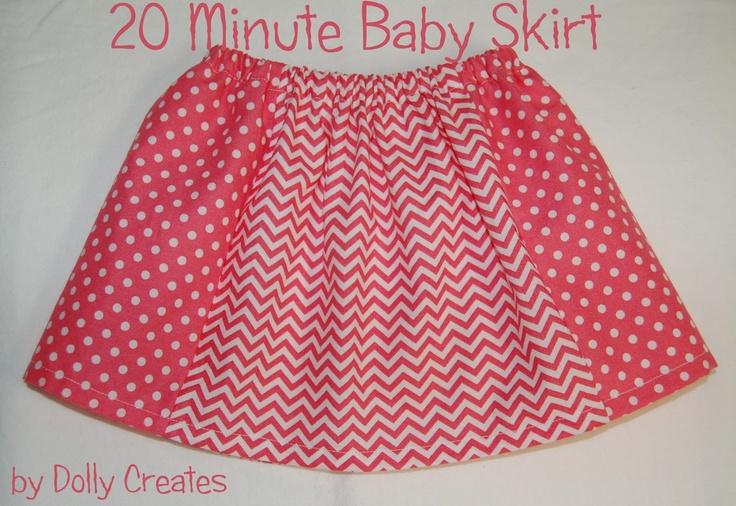 Dolly Creates: 20 Minute Baby Skirt