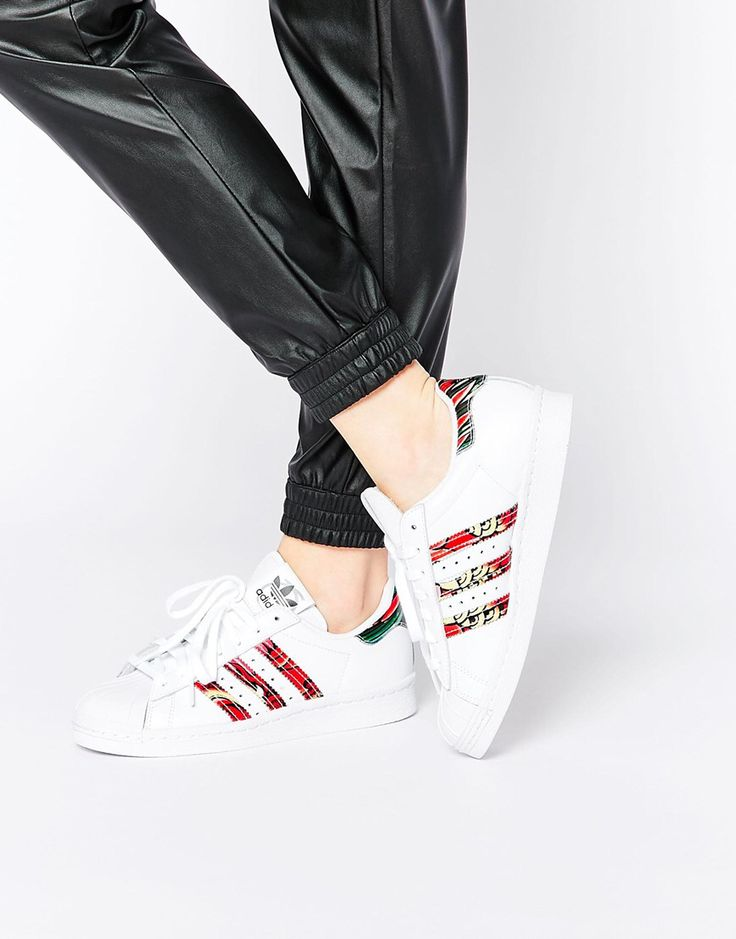 cheap for discount 78cfc 6d632 Rouge Bande Femme Superstar Gris Adidas IYRA6Uq