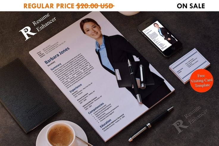 80% OFF SALE Personal Assistant Resume Template Secretary