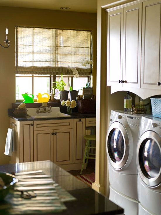 Inspiration For Revamping Your Laundry Room