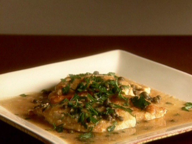 chicken piccata - one of the first things my mom ever taught me how to cook
