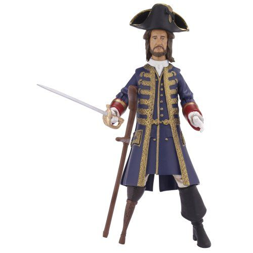 Pirates Of The Caribbean Basic Figure Wave #1 Barbosa Secret Reveal @ niftywarehouse.com #NiftyWarehouse #PiratesOfTheCarribbean #Pirates #Movies #Pirate