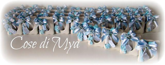 Cose di Mya: Cornici in Ceramica per il battesimo di Christian