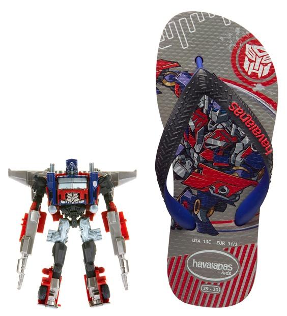 Havaianas Transformers thongs