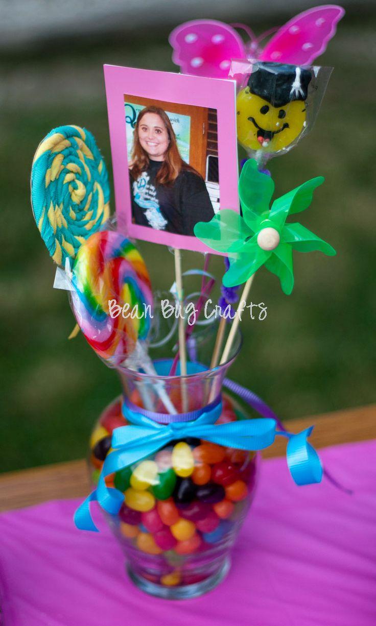 Best ideas about candy theme centerpieces on pinterest