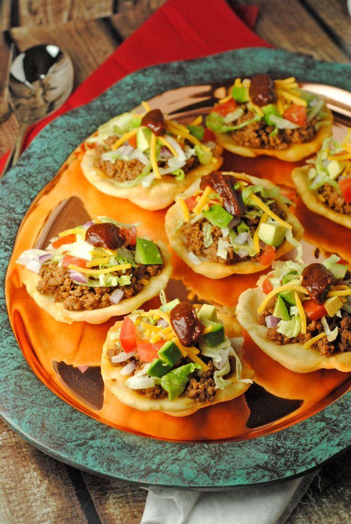 Navajo Fry Bread Bites from @jen @ Juanita's Cocina #EasyRecipe #Appetizer