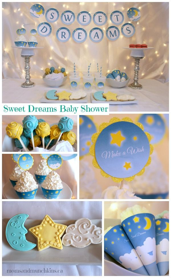 Sweet Dreams Baby Shower #BabyShower