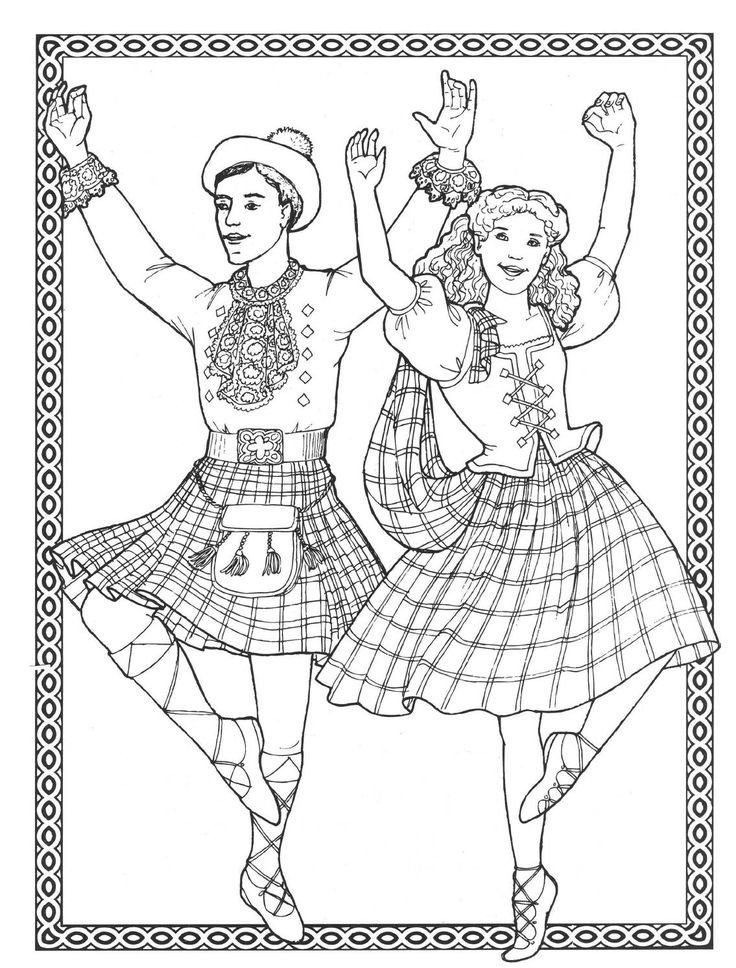 ballet coloring pages for adults - photo#37