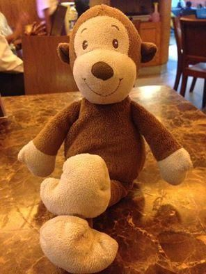 Lost on 04 Jun. 2016 @ Forum mall, Elgin Road, Kolkata, india. This is the picture of my son's favourite 'Mungu', whom he never leaves home without. He's had him since his early days. Sadly, he misplaced him at a local mall this evening and we were unable to f... Visit: https://whiteboomerang.com/lostteddy/msg/1g89qc (Posted by Arnab Dutta on 04 Jun. 2016)