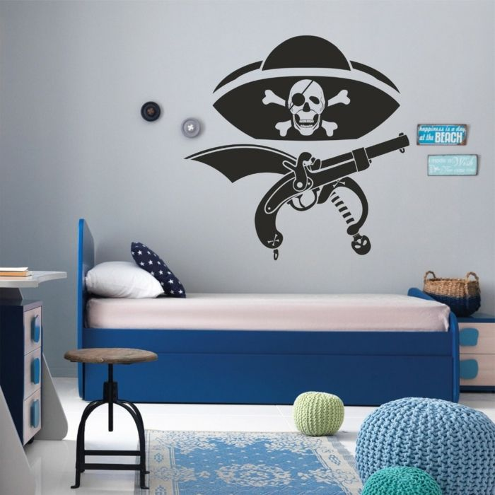 Stunning Wollen Sie ein Piraten Kinderzimmer einrichten sind Sie bei uns f ndig Wir helfen mit Ratschl ge und Beispiele f r ein Seer uber Ambiente