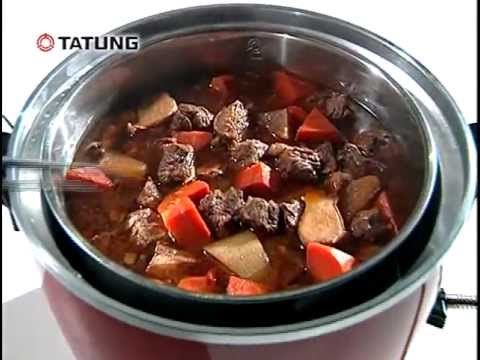 ▶ Tatung Electric Rice Cooker - YouTube Tutorial on how to use it followed by a bunch of different recipes.