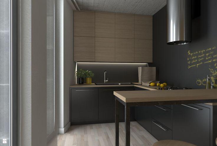 Loft- Szwajcaria - zdjęcie od WERDHOME - Kuchnia - Styl Minimalistyczny - WERDHOME