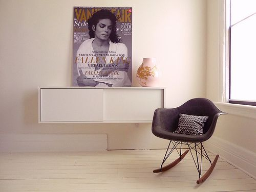 Eames RAR schwarz - POPfurniture.com