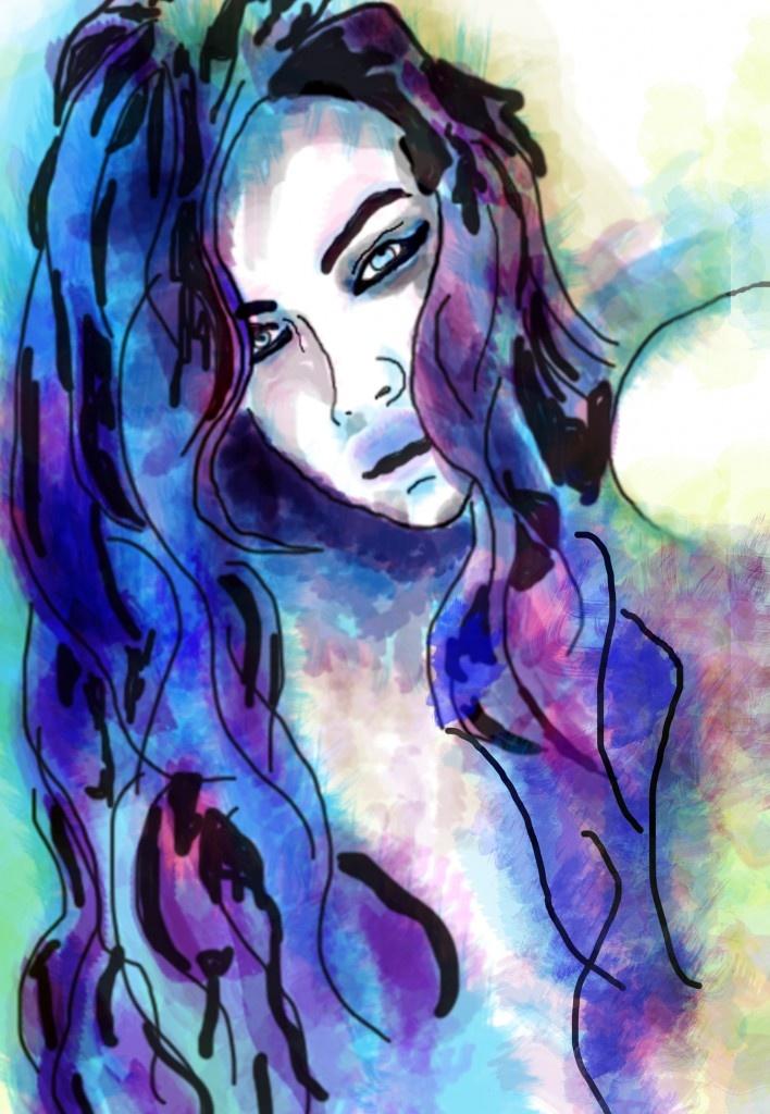 Loving this watercolor art!