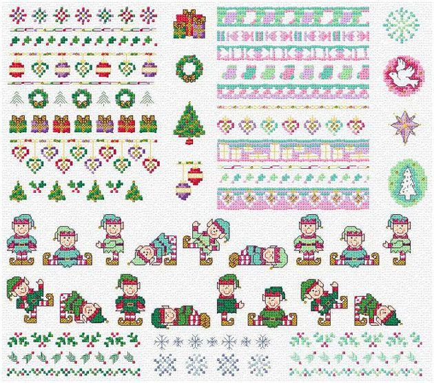 Holiday border - Maria Diaz Designs