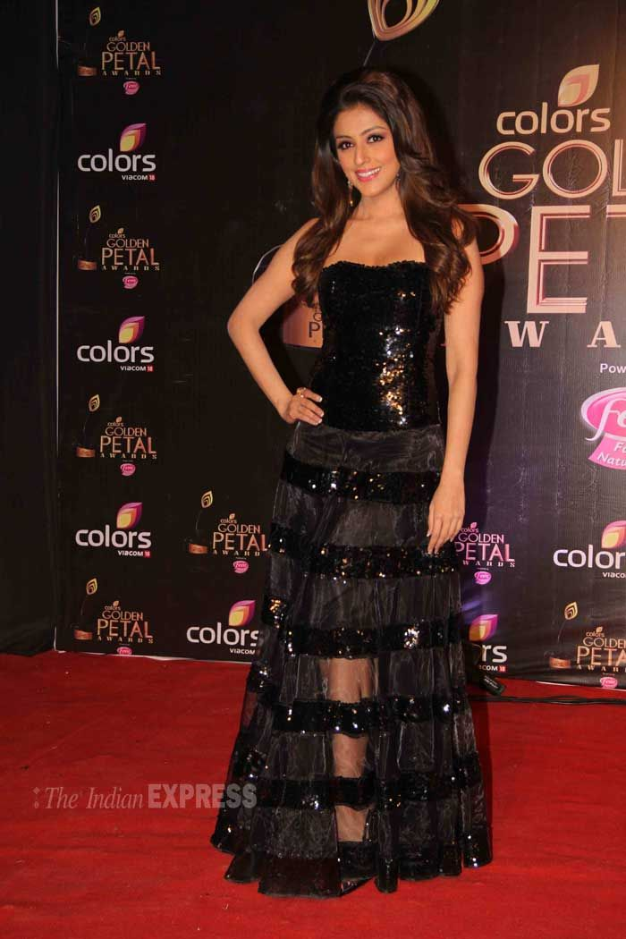 Aarti Chhabria at the third edition of the Colors Golden Petal Awards. #Fashion #Style #Bollywood #Beauty