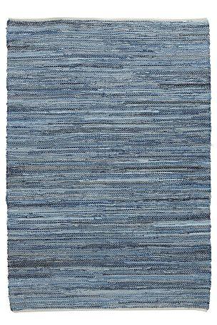 Ellos Home Trasmatta Riverside 200x240 cm Jeansblå - Bomulls- & trasmattor | Ellos Mobile