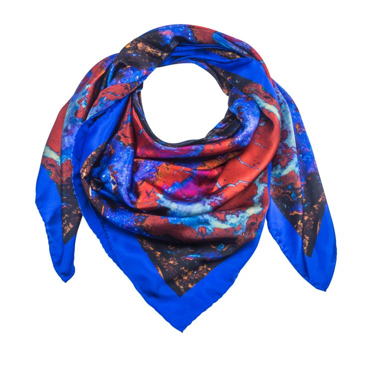 Vela 2 - Silk Scarf - Celestial Collections – Silk and Stone
