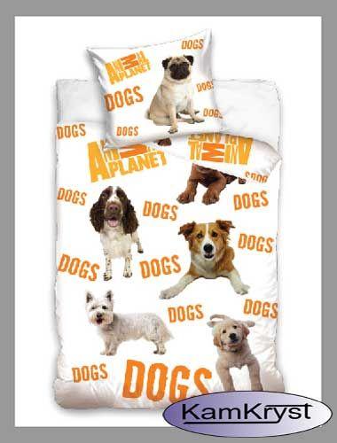 Nowy wzór pościel z psami firmy Carbotex dostęny na stronach sklepu
