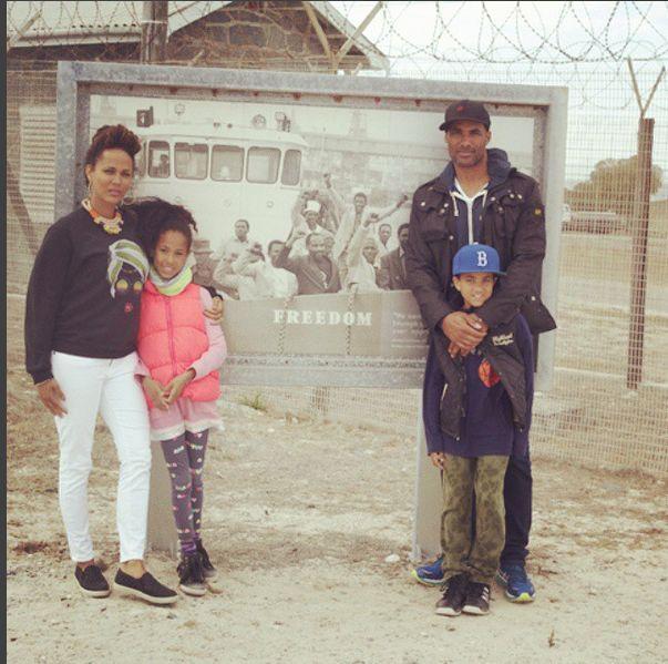 The Kodjoes: Nicole and daughter Sophie with Boris and son ...  The Kodjoes: Ni...
