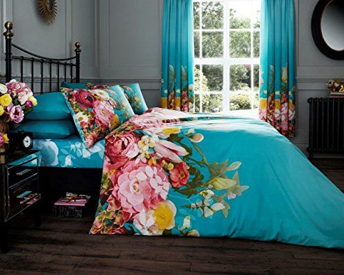 Fadded Floral 'Terquoise' Bedding Double Duvet Cover Set ... https://www.amazon.ca/dp/B06XD944C1/ref=cm_sw_r_pi_dp_x_-H4dAb3VGYKND