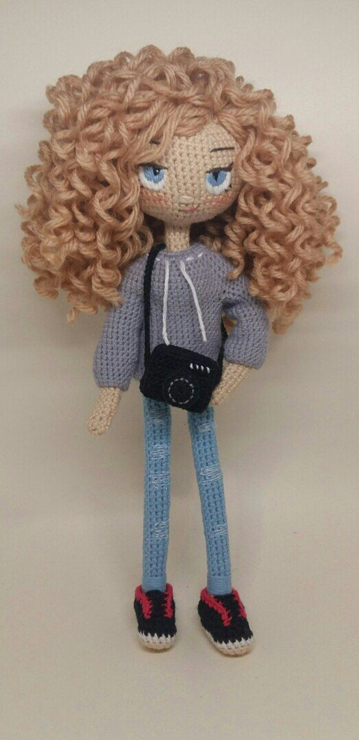 Amigurumi Doll Curly Hair : 1481 best images about Crochet Doll Inspiration on ...