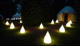 Lanterns to yurts at LPM Bohemia
