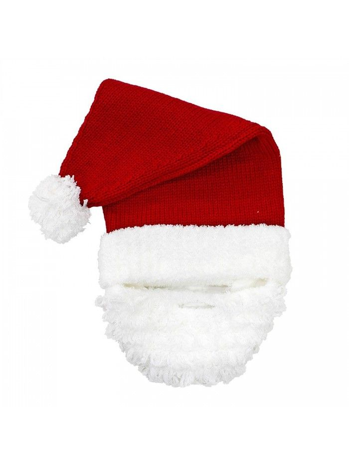 80cb48d6663 The Original Comfy Santa Knit Beard Hat - CK129JX0BBX