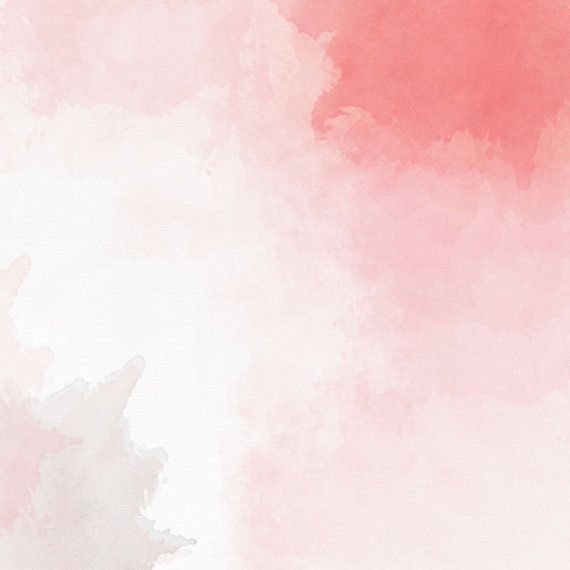 Pink Watercolor scrapbook hand painted red pink coral peach