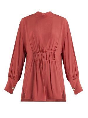 Gathered-waist crepe top | Marni | MATCHESFASHION.COM UK