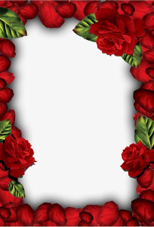 было рамка для фотографий с розами как креатив