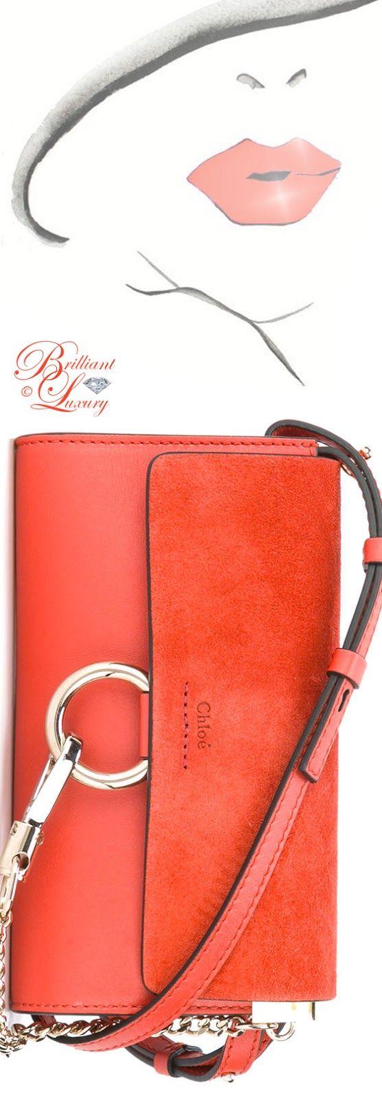 Brilliant Luxury by Emmy DE ♦ Chloé 'Faye' Crossbody Bag