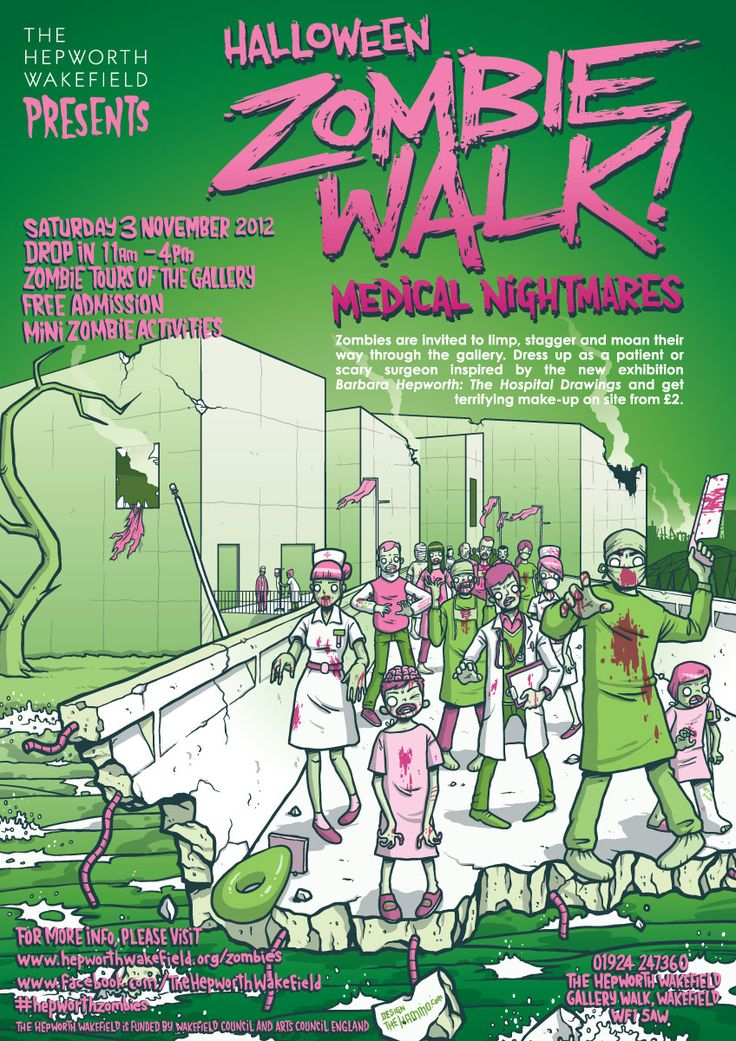 Hepworth Zombie Walk: Medical Nightmares