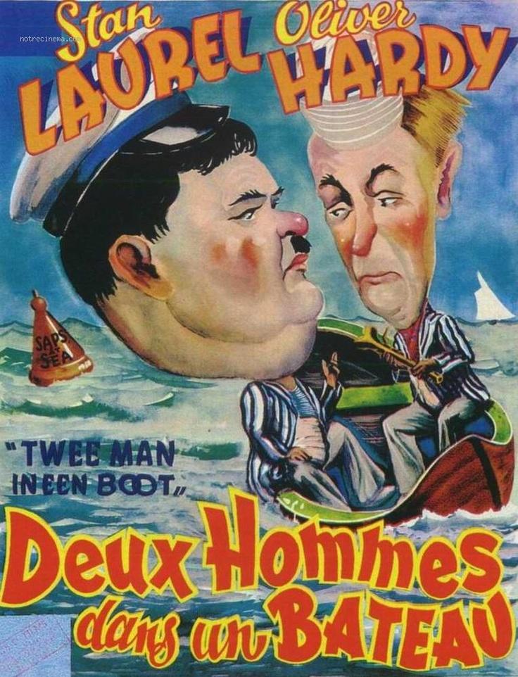 Poster Laurel et Hardy en croisière 75470