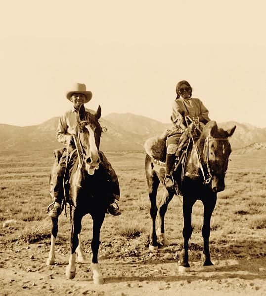 The Gift Of Spanish Horses Meant The Utes Could Raise