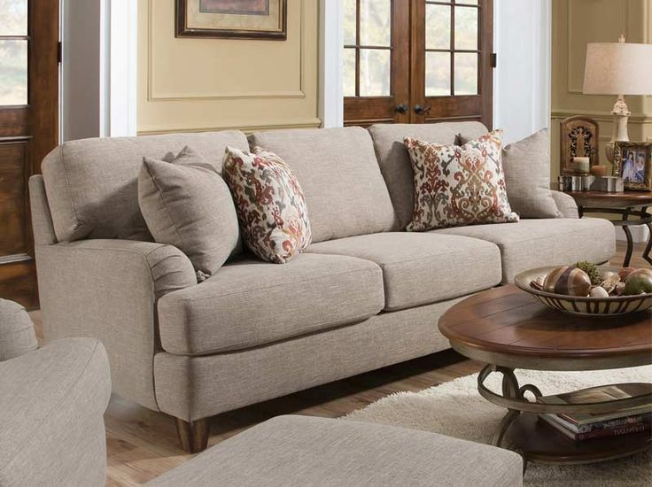 Lovely Franklin Furniture   Carmel Stationary 3 Piece Living Room Set In Warm  Sandstone   88740
