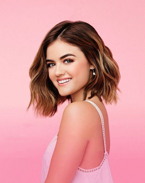 Lucy Hale | 'Hearts Blowpro' Campaign 2015