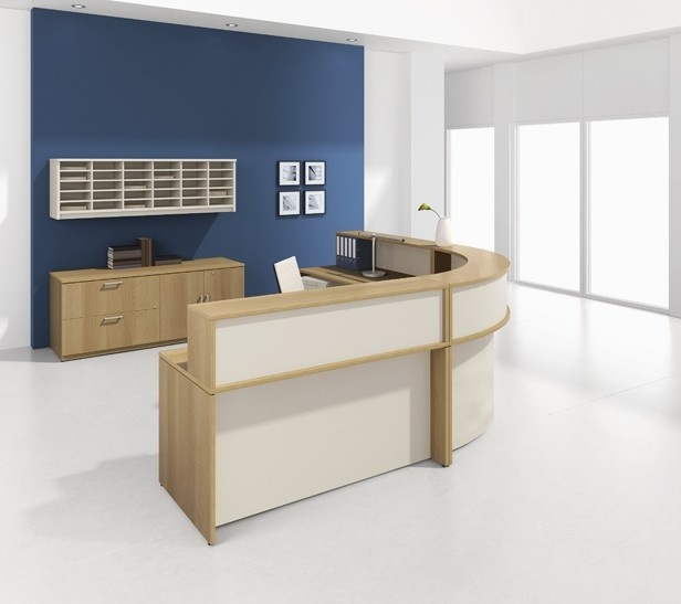 Lacasse Morpheo Circular Reception - Office Furniture Warehouse