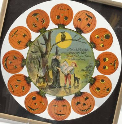 Halloween Fortune Teller Game Pick a pumpkin and on it's back you'll find your future bright or black